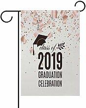 Yochoice ALAZA 2019 Abschlussfeier mit Hut und