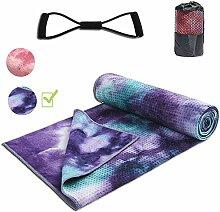 Yoga-Handtuch Matte, rutschfest, weich, saugfähig