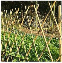 YOGANHJAT Pflanzkübel mit Rankgitter Bambus