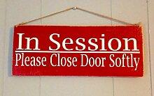 Yohoba 30,5 x 10,2 cm In Session Please Close Door
