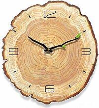 Yoillione Wall Clock Vintage Wanduhr Holz Wanduhr