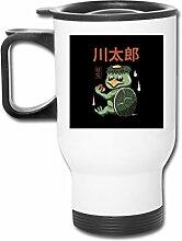 Yokai Monsters Turtle Kappa Edelstahl-Becher,