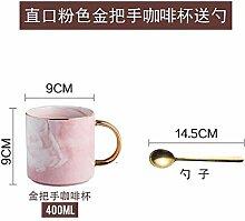 Yomiokla Der Marmor Textur Keramik Becher ein paar