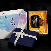 Yomiokla Ein paar Tassen Kaffee Becher Deckel