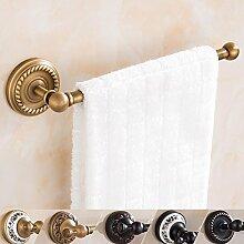 YONG Alle Kupfer retro antiken Einzelhandtuchhalter Handtuchhalter Bad-Accessoires , a , gold