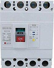 Yongenee Circuit Breaker, 3P + N Leakage