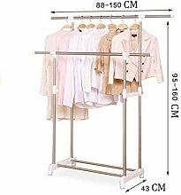 Yongjing-Wäscheständer Edelstahl Kleidung Airer