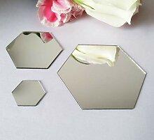 YongPan 50 Stück DIY Hexagon Acryl