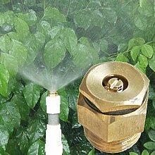 Yongse 1/2 Inch Messing Kreisel einstellbare Wasser Atomisiersprühdüse
