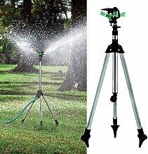 Yongse 1/2 Zoll Garten Rasen Anlage Bewässerung Teleskopstativ Beregnung Kits