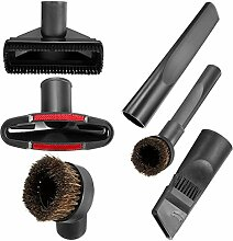 Yongse 5Pcs Universal 32mm Vakuum Ceaner Teile Zubehör Kleine Düse Bürste Boden Werkzeuge Filterbeutel