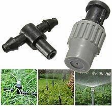 Yongse Garten Einstellbare Micro Spray Düse Beschlagen Atomisierende Sprinkler Kühl
