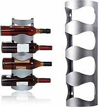 YongYI Weinflaschenständer, 4 Flaschen, zum