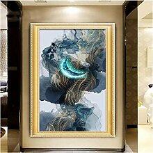 Yonthy 3D Tapete Wohnzimmer Schlafzimmer Abstrakte