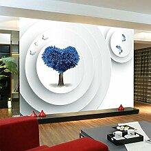Yonthy 3D Tapete Wohnzimmer Schlafzimmer Blauer