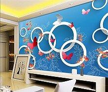 Yonthy 3D Tapete Wohnzimmer Schlafzimmer Einfacher