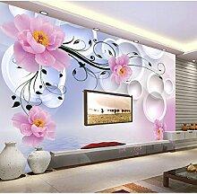 Yonthy 3D Tapete Wohnzimmer Schlafzimmer Fantasie