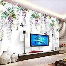 Yonthy 3D Tapete Wohnzimmer Schlafzimmer Gemalte