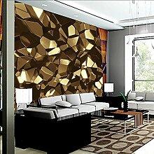 Yonthy 3D Tapete Wohnzimmer Schlafzimmer Goldenes