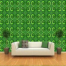 Yonthy 3D Tapete Wohnzimmer Schlafzimmer Grüne