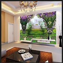 Yonthy 3D Tapete Wohnzimmer Schlafzimmer Grünes