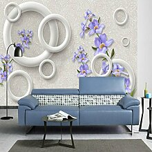 Yonthy 3D Tapete Wohnzimmer Schlafzimmer Lilane
