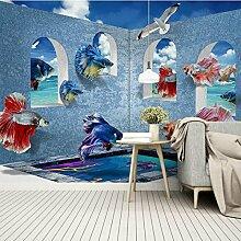 Yonthy 3D Tapete Wohnzimmer Schlafzimmer