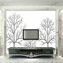 Yonthy 3D Tapete Wohnzimmer Schlafzimmer Wald