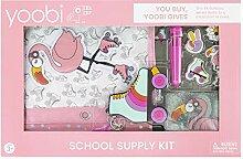 Yoobi Schul- und Bürobedarf-Set   Geschenk für