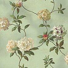 York Wallcoverings grün Buch Rhododendron/Script