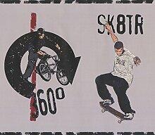York Wallcoverings Skateboard-Einrad Fahrrad Sport