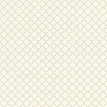 York Wallcoverings wa7826Waverly Classics Rahmen Tapete, ecru/lila