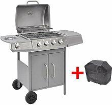 yorten BBQ Gasgrill Barbecue-Grill Grillwagen