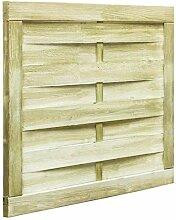 yorten Holz Gartentor 100 x 75 cm Gartenzaun-Tor