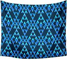 Yosemite Geometrische Muster Tapisserie Wandbehang