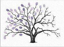 Yosemite Handabdruck-Baum für kreative Hochzeit,