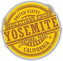 Yosemite National Park California Grunge Rubber