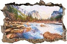 Yosemite National Park California Kunst Pinsel