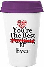 yoshop 12oz Tasse aus Keramik, Freunden Geschenke