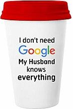 yoshop Mann Geschenke I Don 't Need Google My