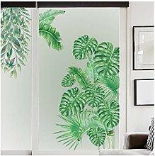 Yoshotech Große Tropische Pflanze Wandaufkleber