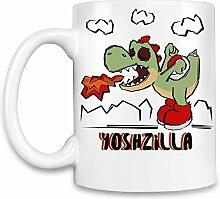 Yoshzilla Kaffee Becher