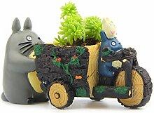 YOSLOL Totoro Anime Home Decor Figuren Miniaturen