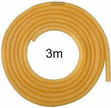 Yosoo 6x9mm Natural Latex Rubber Gummiband Tube