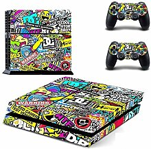 Yosoo Dekorative Aufkleber für Playstation 4 PS4