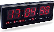 Yosoo Große Digital LED Uhr mit der Kalender