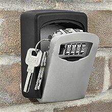 Yosoo Wandsafe für Schlüssel, Sicherheitskasten,