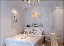 Yosot 3D Effekt Vlies Tapete Schlafzimmer