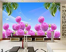 Yosot Benutzerdefinierte Größe 3D Fototapete Zimmer Wandbild/Pavillon Themenpavillon 3D Malerei Sofa Tv Hintergrundbild Für Wände 3D-350Cmx245Cm