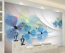 Yosot Custom Tapete 3D Blumen Hintergrundbilder
